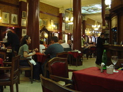 cafe tortoni is a must see in Buenos Aires