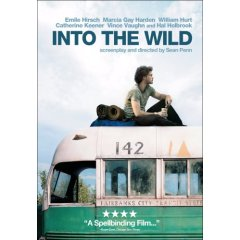 Into the Wild starring: Emile Hirsch