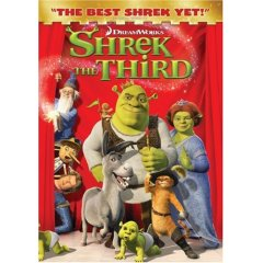Shrek the Third starring Mike Myers, Eddie Murphy, and Cameron Diaz