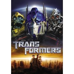 Transformers movie cover