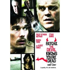Before the Devil Knows You're Dead starring: Ethan Hawke and Marisa Tomei