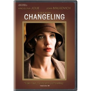 Changeling  starring: Angelina Jolie and John Malkovich