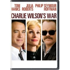 Charlie Wilson's War starring: Tom Hanks, Julia Roberts, and Philip Semour Hoffman