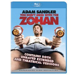 You Don't Mess with the Zohan starring: Adam Sandler