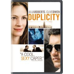 Duplilcity starring: Julia Roberts and Clive Owen
