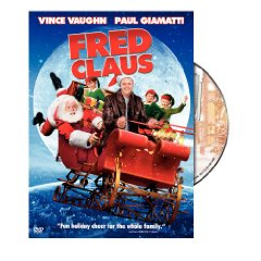 Fred Claus starring: Vince Vaughn and Paul Giamatti