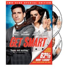 Get Smart starring: Steve Carrell and Anne Hathaway