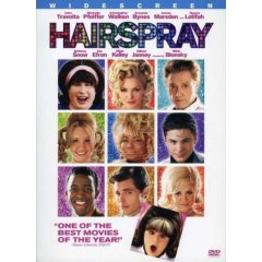 Hairspray starring: John Travolta, Michelle Pfeiffer, and Christopher Walken