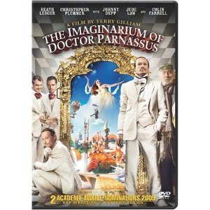 The Imaginarium of Doctor Parnassus Starring: Christopher Plummer, Heath Ledger, Johnny Depp, Jude Law, Colin Farrell