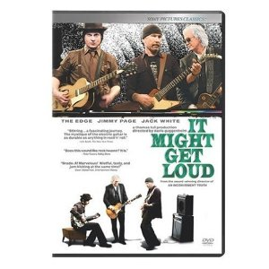 It Might get Loud Starring: Jack White, Jimmy Page, and David Evans