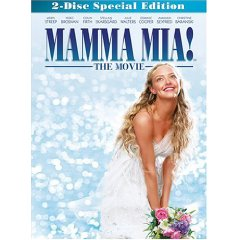 Mamma Mia starring: Meryl Streep, Colin Firth, and Pierce Brosnan