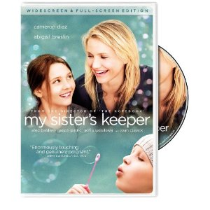 My Sister's Keeper starring: Abigail Breslin, Cameron Diaz, and Alec Baldwin