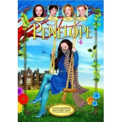 Penelope starring Christina Ricci, James McAvoy, and Reese Witherspoon