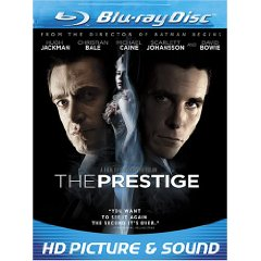 The Prestige starring: Hugh Jackman and Christian Bale