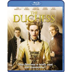 The Duchess starring: Keira Knightley and Ralph Fiennes