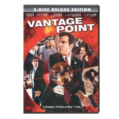 Vantage Point starring Dennis Quaid and Forest Whitaker
